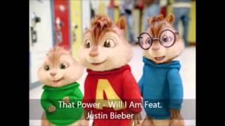 That Power - Will I Am Feat. Justin Bieber (Version Chipmunks)