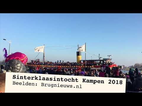 Sinterklaasintocht Kampen druk bezocht (Video)
