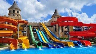 Aqua Paradise аквапарк , НЕСЕБЪР - влог 29.08 - лято 2015