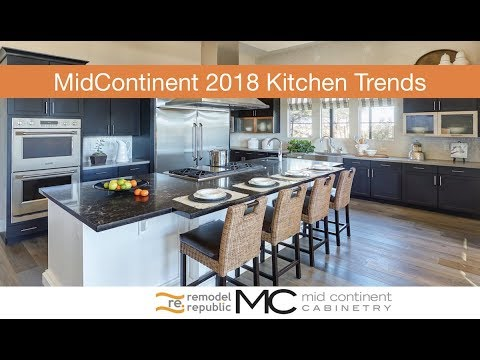2018 Kitchen Trends with MidContinent & Remodel Republic