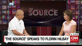 'The Source' speaks to former Solicitor-General Florin Hilbay