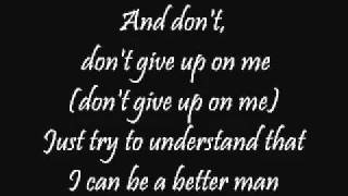 Don't Give Up To Me-Daniel Powter.FLV
