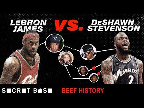 LeBron James and DeShawn Stevenson's 5 year beef involved Destiny's Child, Jay-Z, and Soulja Boy