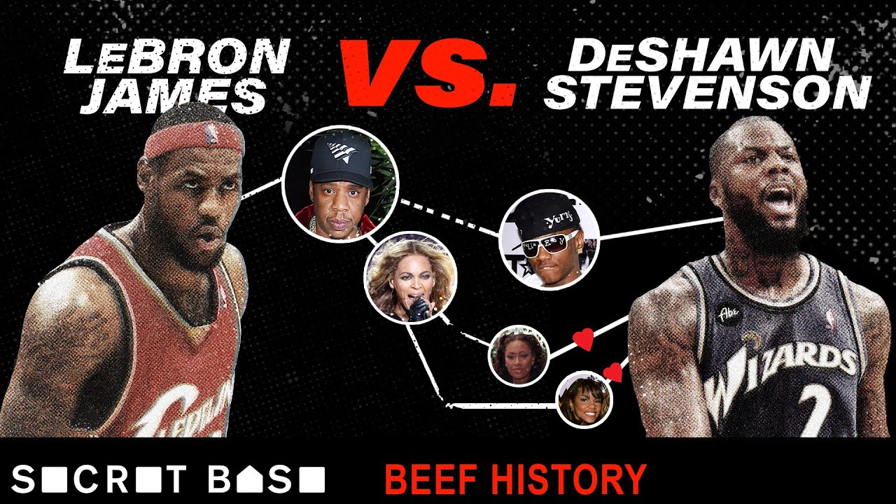 LeBron James and DeShawn Stevenson's 5 year beef involved Destiny's Child, Jay-Z, and Soulja Boy thumbnail