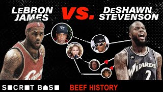LeBron James and DeShawn Stevenson's 5 year beef involved Destiny's Child, Jay-Z, and Soulja Boy