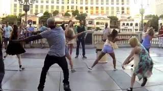 Las Vegas Flash Mob Proposal