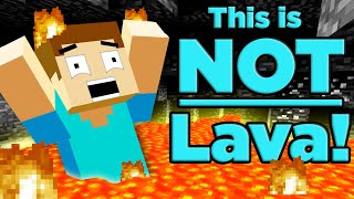 Everything Wrong with Minecraft Lava! | The Science of... Minecraft
