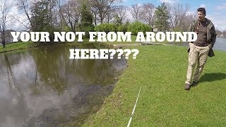 Gambar cover Guy Tries To Kick Me Out For Fishing In My Own Pond?!?!?
