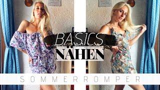 Romper Selber Machen | Simple Kleiderschrank-BASICS Nähen OHNE Schnittmuster
