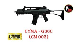[ОБЗОР] CYMA - G36C CM 003 AEG airsoft (страйкбол)