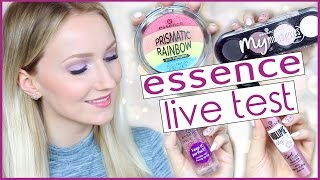 NEUES ESSENCE SORTIMENT Im LIVE TEST  WINTER Makeup Tutorial  TheBeauty2go