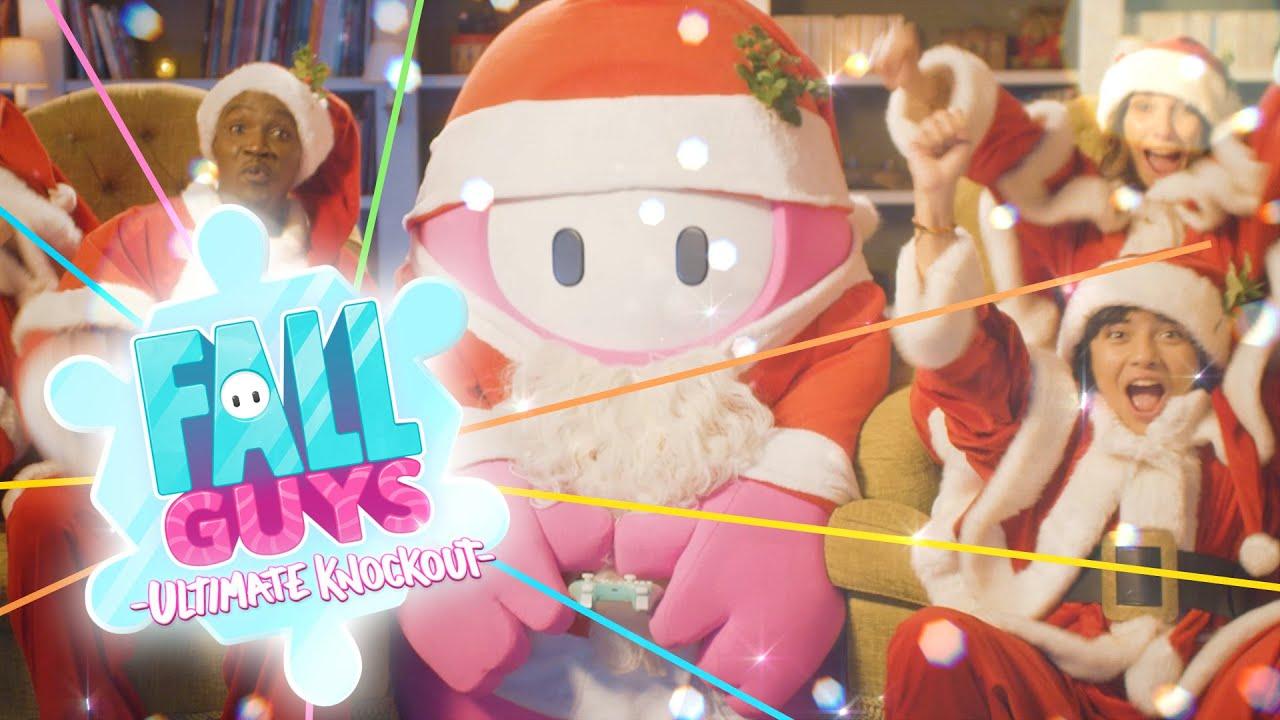 《糖豆人 終極淘汰賽》聖誕假日特別宣傳影像公開,蠢萌的糖豆人親自為玩家們送上禮物。 Maxresdefault