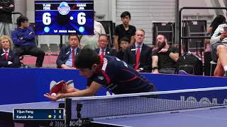 2018 US National Table Tennis Championships - Mens Singles Final - Kanak Jha vs Yijun Feng