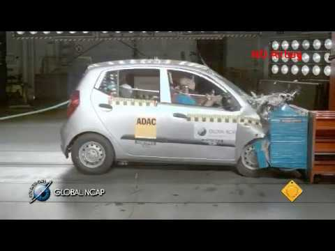 Hyundai i10 en la Global NCAP