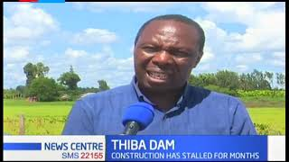 Government on the spot over stalled construction of Dhiba dam as farmers in Mwea scheme count losses