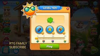 Lets play Meow match level 409 HARD LEVEL HD 1080P