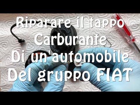 Riparare il tappo carburante della Fiat Grande Punto