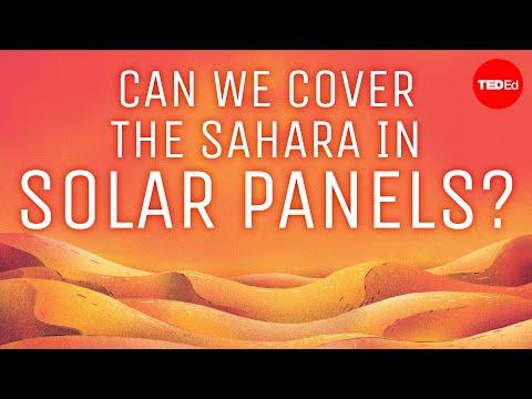 Můžeme Saharu pokrýt solárními panely? - TED-Ed