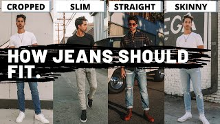 How Jeans Should Fit | Mens Jean Fit + Cuffing Guide
