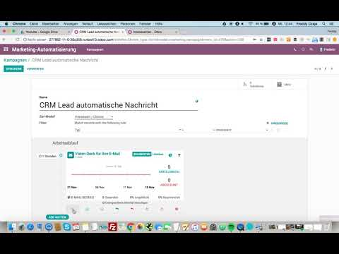 Marketing Automation in odoo 11 Webinar