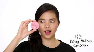 Benefit's NEW boi-ing airbrush concealer is a light-to-medium buildable concealer that blurs and smooths uneven skin. It's creaseless, waterproof, and lasts up to 10 hours!  Get yours here: https://www.benefitcosmetics.com/ph/en/product/boi-ing-airbrush-concealer