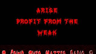 Arise - Profit From the Weak