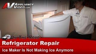 Refrigerator Ice Maker Not Making Ice - Easy Fix Zero Cost