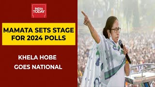 Mamata Banerjee Sets Pitch For 2024 Poll; 'Khela Hobe' Goes National   To The Point