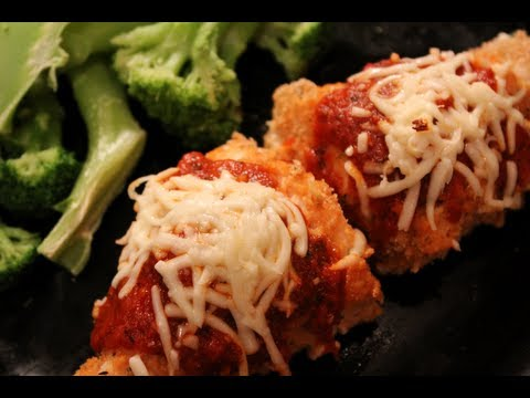 ★ DELICIOUS Bodybuilding Meal: Healthy Oven-Baked Chicken Parmesan