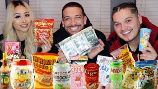 Americans Try Asian Snacks