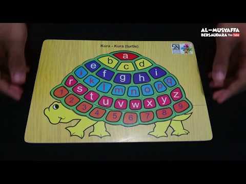 BELAJAR HURUF DAN ANGKA MENGGUNAKAN PUZZLE LUCU | Mainan Edukatif Anak | Belajar Sambil Bermain