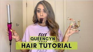 Easy Everyday Curls | Hair Tutorial | Queencyn