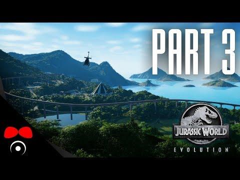 DRACOREX A ÚTĚK Z OHRADY! | Jurassic World: Evolution #3
