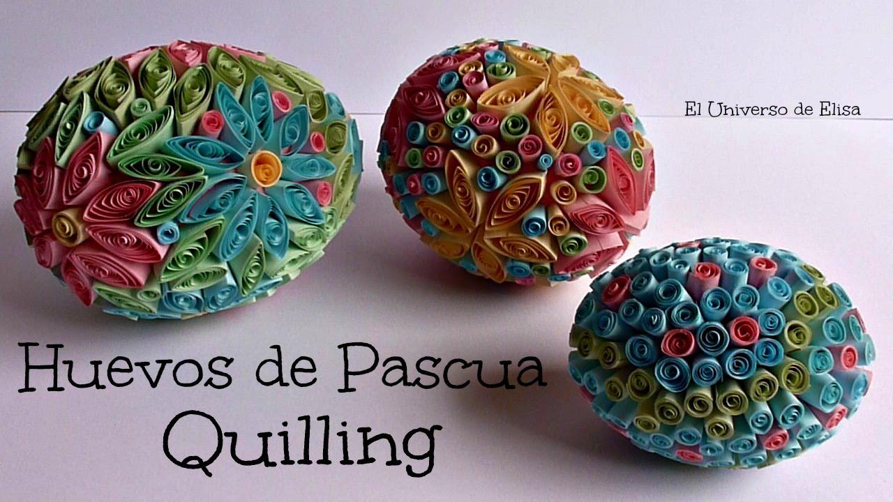 Cómo Decorar Huevos de Pascua, Decoración para Pascua, Manualidades para Pascua