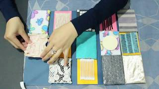 DIY TEXTURED SENSORY BOARD  | Baby Activity | Yusuf Yusri