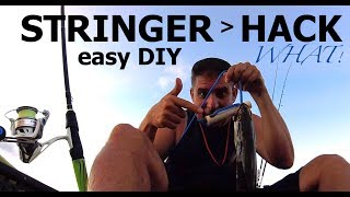 Fish Stringer PVC Hack ! easy how to