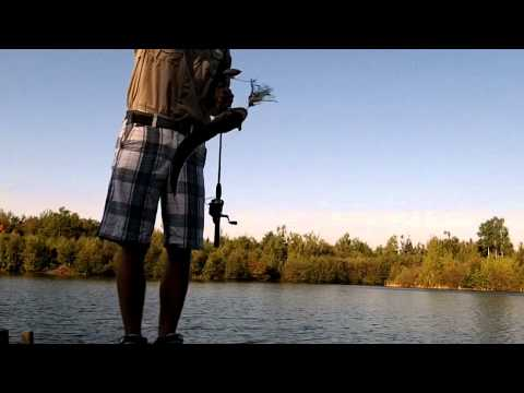 Fishing For Fall Smallmouth Bass and Pickerel on a Secret Pond