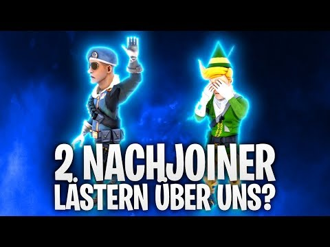2 NACHJOINER LÄSTERN ÜBER UNS !? 😭 | Fortnite: Battle Royale