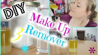 DIY 3 Make Up Entferner