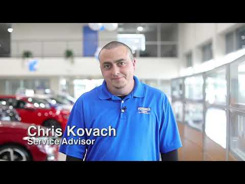 Service Advisor Chris Kovach