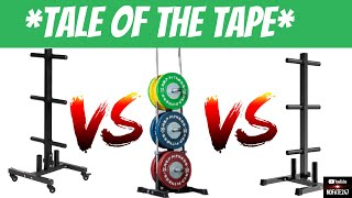 Best Budget Plate Tree | Rep Fitness vs. Titan Fitness vs. Yaheetech | Home Gym Survival Guide