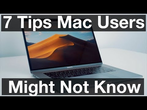 Seven Handy Mac Tricks You Might not Know