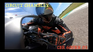 REPRISE POST COVID CHAMBLEY CBR600RR