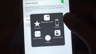 iPhone 6 Plus: How To Enable Touch Screen Home Button on iPhone / iPod (Assistive Touch)