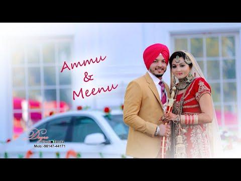 The Best Punjabi  Cinematic Wedding 2019 { AMMU & MEENU }  By Dogra Studio Tanda M 98147 44171
