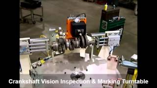 Alternative Engineering - Part Marking and Vision Inspection Index Table
