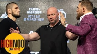 Bomani and Pablo react to wild Conor-Khabib press conference | High Noon | ESPN