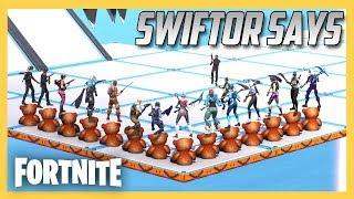 Swiftor Says in Fortnite Creative #3! Proof That I'm Evil.