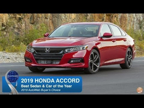 2019 Honda Accord Wins AutoWeb Buyer