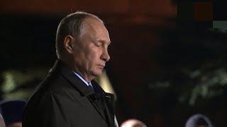 """Путин возложил цветы у """"Стены скорби"""""""